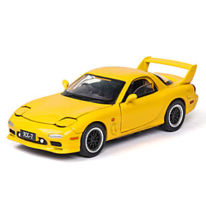 cheap Toy Cars-1:32 Toy Car Music Vehicles Car F1 car Race Car Glow Cute Parent-Child Interaction Zinc Alloy Rubber ABS+PC Mini Car Vehicles Toys for Party Favor or Kids Birthday Gift