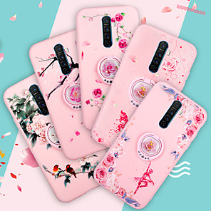 cheap OPPOCase-Case For OPPO OPPO R11s Plus / OPPO R11s / OPPO R11 Plus Shockproof / with Stand Back Cover Flower TPU