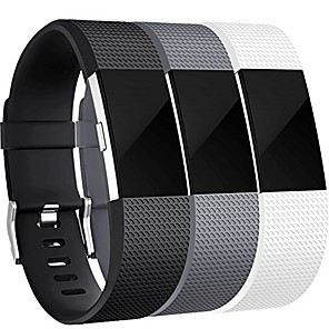 cheap Smartwatch Bands-Smartwatch Band for Fitbit Charge 2 / Fitbit Charge 2 HR Fitbit Sport Band Fashion Soft Silicone Wrist Strap