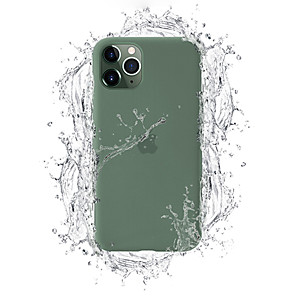 cheap iPhone Cases-Case For Apple iPhone 11 / iPhone 11 Pro / iPhone 11 Pro Max Dustproof / Pattern Back Cover Playing with Apple Logo / Tile / Solid Colored Silica Gel