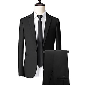 cheap Custom Suits-Black custom suit