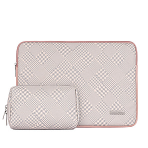 cheap Sleeves,Cases & Covers-11.6 Inch Laptop / 12 Inch Laptop / 13.3 Inch Laptop Sleeve Polyester / Canvas Lattice for Men for Women for Business Office Water Proof Shock Proof