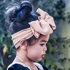 cheap Kids' Hats & Caps-Ladies Cute Elegant Princess 75g / m2 Polyester Knit Stretch School Casual / Daily - Solid Colored