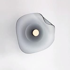 abordables Luces de Pared Interior-QIHengZhaoMing Lámparas de pared Dormitorio / Bazares y Cafeterías Vidrio Luz de pared 110-120V / 220-240V 10 W