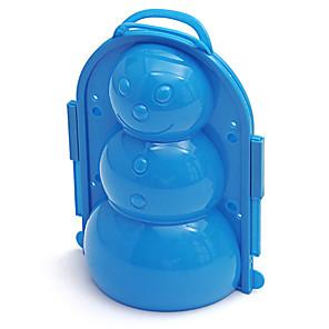 cheap Beach & Sand Toys-Beach Toy Beach Sand Toys Set Water Toys 1 pcs Plastic Shell Handles Snowman For Kid's Adults' All
