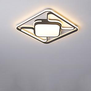 cheap Dimmable Ceiling Lights-1-Light 42 cm LED / New Design Flush Mount Lights Metal Linear Painted Finishes LED / Modern 110-120V / 220-240V