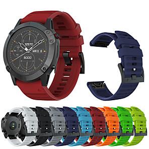 cheap Smartwatch Bands-Watch Band for Fenix 6x / Fenix 6x Pro / Fenix 3 Garmin Sport Band / Classic Buckle / Modern Buckle Silicone Wrist Strap for Garmin Fenix 5X / Fenix 5X Pro