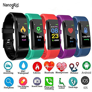 cheap Smartwatches-Women's Digital Watch Digital Formal Style Modern Style Casual Water Resistant / Waterproof Silicone Black / Blue / Red Digital - Black Blue Purple