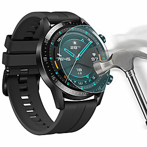 cheap Smartwatch Bands-Screen Protector for Huawei Watch GT2 46mm Tempered Glass Transparent High Definition (HD) Scratch Proof/9H Hardness