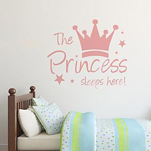 cheap Wall Stickers-Unicorn Decorative Wall Stickers Animals / Stars Nursery / Kids Room