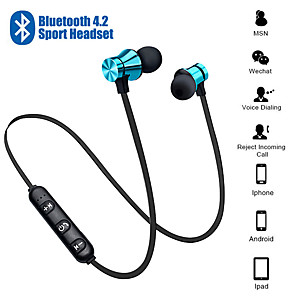 cheap Sports Headphones-XT-11 Magnetic Wireless Bluetooth Earphone Headset Bass Music Earbuds Headset