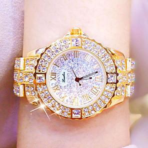 cheap Quartz Watches-Women's Quartz Watches Luxury Fashion Silver Gold Rose Gold Alloy Quartz Rose Gold Gold Silver Casual Watch Analog