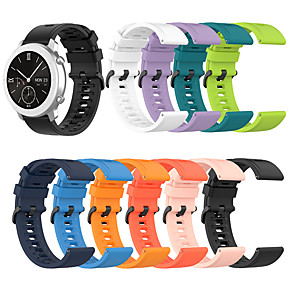 cheap Smartwatch Bands-Watch Band for Amazfit  GTR  42mm / Amazfit  GTR  47mm Amazfit Sport Band / Classic Buckle Silicone Wrist Strap