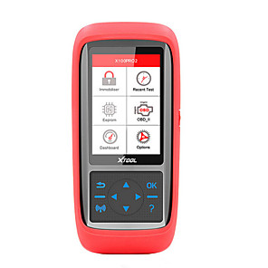 cheap OBD-XTOOL X100 PRO 2 OBD2 Diagnostic 16pin Code Reader Auto Key Programmer With EEPROM Adapter Support Immobilizer and ECU Programming Update Online