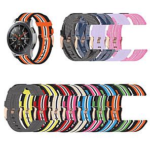 cheap Smartwatch Bands-Watch Band for Vivoactive 3 Garmin Sport Band / Classic Buckle Nylon Wrist Strap 18MM / 20MM / 22MM