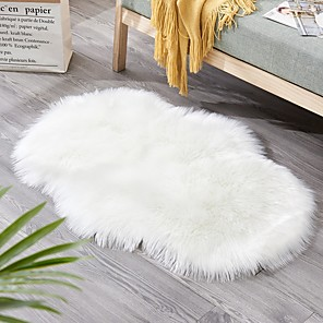 cheap Pillow Covers-Area Rugs Modern Polyster, Flat Shape Superior Quality Rug