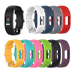 cheap Smartwatch Bands-Watch Band for Vivofit 4 Garmin Sport Band Silicone Wrist Strap
