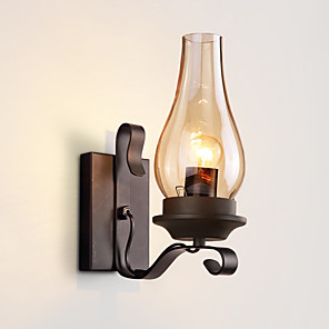 cheap Wall Sconces-Industrial Wall Lamp Bedroom Bedside Lamp Corridor Retro Creative 5W Lamps