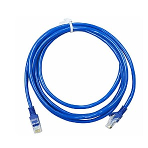 cheap Ethernet Cable-3 Meters RJ-45 Blue Ethernet Internet LAN CAT5e Network Cable for Computer Modem Router