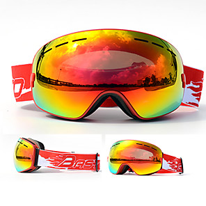 cheap Costume Wigs-BASTO Ski Goggles for Adults' Winter Sports Waterproof Adjustable Size