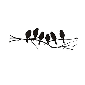 cheap Wall Stickers-Decorative Wall Stickers - Plane Wall Stickers Birds Bedroom / Kids Room