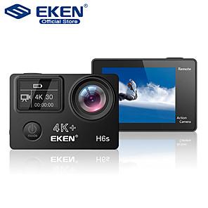 cheap Car DVR-EKEN H6s Plus 4K Ultra HD 14MP with EIS Remote Sport Camcorder Ambarella A12 Chip Wifi 30m Waterproof Panasonic Sensor Action Camera Car DVR