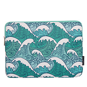 cheap Sleeves,Cases & Covers-11.6 Inch Laptop / 12 Inch Laptop / 13.3 Inch Laptop Sleeve Polyester / Canvas Lines / Waves for Men for Women for Business Office Water Proof Shock Proof