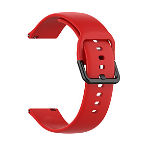 cheap Smartwatch Bands-Watch Band for Samsung Galaxy Watch Active 2 Samsung Galaxy Sport Band Silicone Wrist Strap