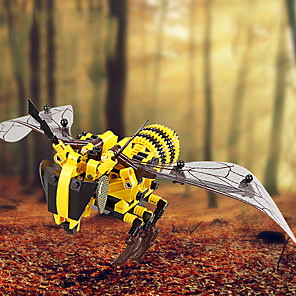 cheap Building Blocks-Building Blocks 400-800 pcs Bee compatible ABS+PC Legoing Simulation All Toy Gift / Kid's
