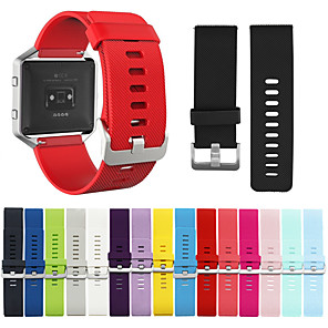 cheap Smartwatch Bands-Watch Band for  Fitbit Blaze Fitbit Blaze Sport Band Silicone Wrist Strap