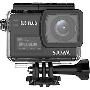 cheap Car DVR-SJCAM SJCAM SJ8PLUS Touch Action Camera Waterproof 30m Live Video Stabilization HD Camera 2160P Fisheye correction / Boot automatic recording Car DVR 170 Degree Wide Angle CMOS 2.33 inch IPS Dash Cam
