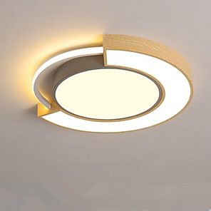 cheap Dimmable Ceiling Lights-1-Light Modern Personality Creative Children Room Bedroom Lamp Macaron Shaped Ceiling Lamp 24W