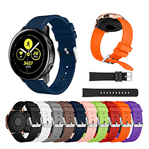 cheap Smartwatch Bands-Silicone Strap For Samsung Galaxy watch active 2/active/galaxy watch 42mm/Gear Sport /S2 classic