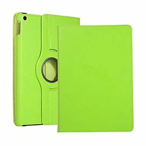 cheap iPad case-Case For Apple iPad Air / iPad 4/3/2 / iPad Mini 3/2/1 360° Rotation / Shockproof / Auto Sleep / Wake Up Full Body Cases Solid Colored Hard PU Leather / iPad Pro 10.5 / iPad (2017)