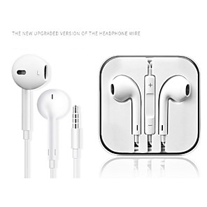 cheap On-ear & Over-ear Headphones-LITBest Universal Wired In-ear Earphone Wired Travel Entertainment Noise-Cancelling Stereo with Microphone