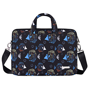 cheap USB Hubs & Switches-13.3 Inch Laptop / 14 Inch Laptop / 15.6 Inch Laptop Shoulder Messenger Bag / Briefcase Handbags Polyester Animal / Fish for Men for Women for Business Office Water Proof Shock Proof