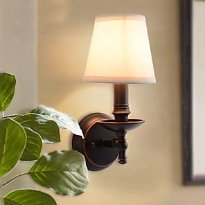 povoljno Zidni svijećnjaci-Tradicionalni / klasični Zidne svjetiljke Metal zidna svjetiljka 220V / 110V 40 W / E12 / E14