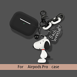 cheap Earphone Accessories-Case For AirPods Pro Shockproof / Lovely Headphone Case Soft