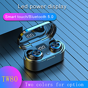 cheap TWS True Wireless Headphones-Bluetooth Earphones True Wireless Headphones 5.0 TWS in-Ear Earbuds Mini Headset Stereo Sound Sport Earpiece