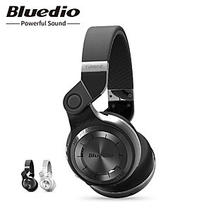 cheap On-ear & Over-ear Headphones-Bluedio T2 Bluetooth Wireless Foldable Headphones With Mircorphone 3D Sound Headset For Cell Phone Earphone