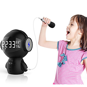 cheap Portable Speakers-Cute Smart Robot Bluetooth Speaker M100 Mini Smart-Robot Super Bass Portable Bluetooth Speaker For Power Bank no M10 Robot charg