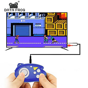 cheap Video Game Accessories-DATA FROG 8 Bit Mini Video Game Console Players Build In 89 Classic Games Support TV Output Plug & Play Game Player Best G