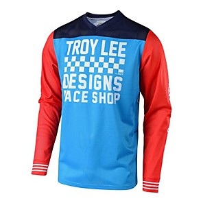 cheap Cycling Jerseys-TLD speed down long sleeve breathable Motorcycle Jersey cross country racing suit mountain bike cycling suit
