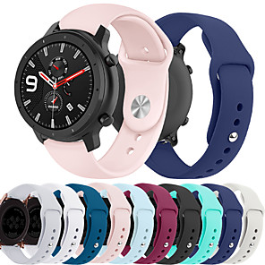 cheap Smartwatch Bands-Smartwatch Band for Huami Amazfit GTR 42mm / Bip Younth Watch / Amazfit Bip / Bip Lite Amazfit sport Band Fashion Soft comfortable Silicone Wrist Strap 20mm