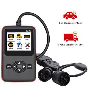 cheap OBD-V500 Car/Truck Scanner OBD2 Diagnostic Tool Code Reader for Car Heavy Duty Truck V500 Diagnostic Scanner