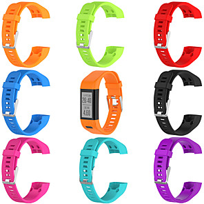 cheap Smartwatch Bands-Smartwatch Band for Vivosmart HR(Plus)  /Approach X10 / X40 Garmin Sport Band Soft Silicone Wrist Strap