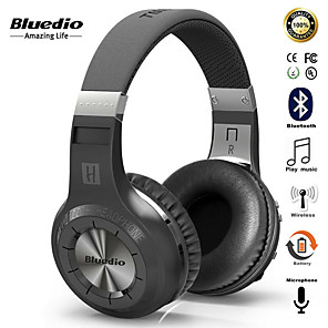 cheap On-ear & Over-ear Headphones-Bluedio HT Wireless Bluetooth Headphones BT 5.0 Version Stereo Bluetooth Headset Built-in Mic for Calls and Music Headset