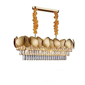 cheap Chandeliers-QIHengZhaoMing 10-Light 32 cm Chandelier Metal Modern 110-120V / 220-240V