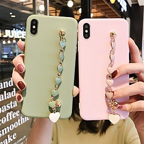 cheap iPhone Cases-Apple For iPhone11Pro Max Love Bracelet Mobile Shell XS Max Silicone Soft 6/7 / 8P All Inclusive Soft Shell Simple Cover