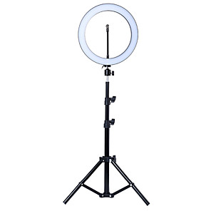 cheap Earrings-Photo LED Selfie Ring Fill Light 10inch Dimmable Camera Phone 26CM Ring Lamp With Stand Tripod For Makeup Video Live Studio